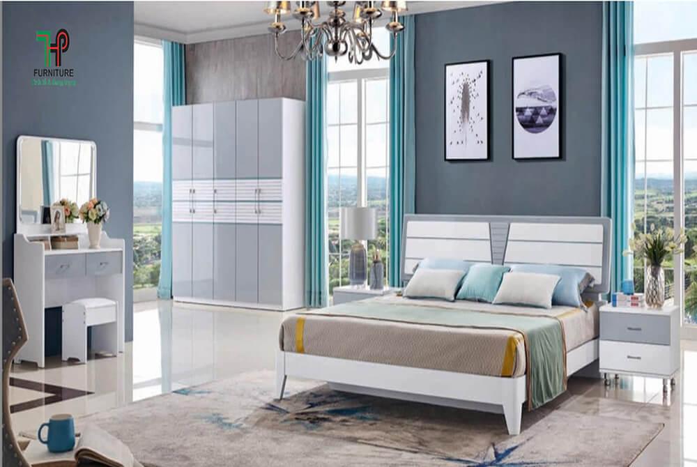 bộ giường tủ cao cấp nhập khẩu