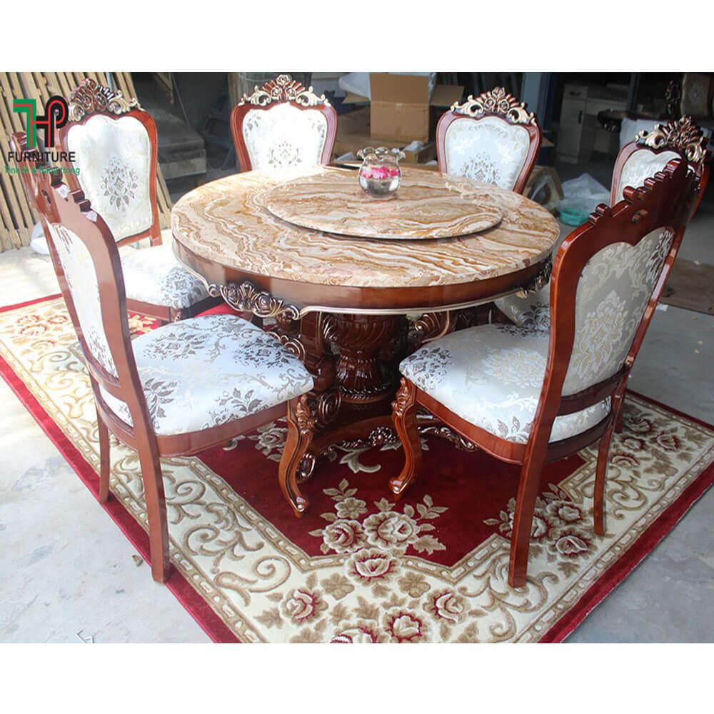 Bàn ghế ăn cổ điển đẹp (3)