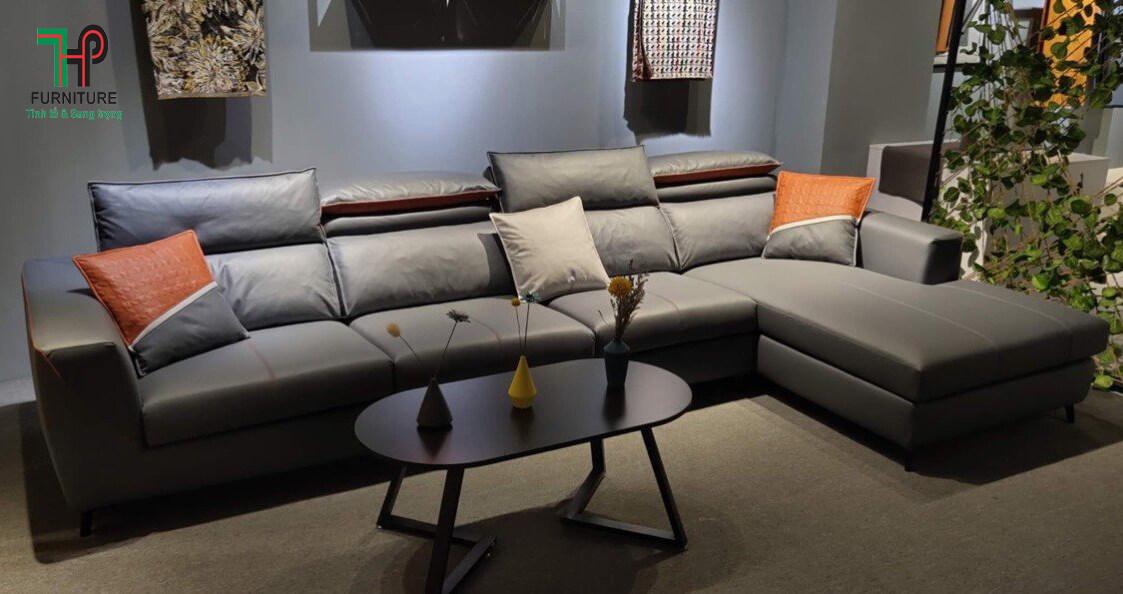 Sofa vải giả da nhập khẩu (1)