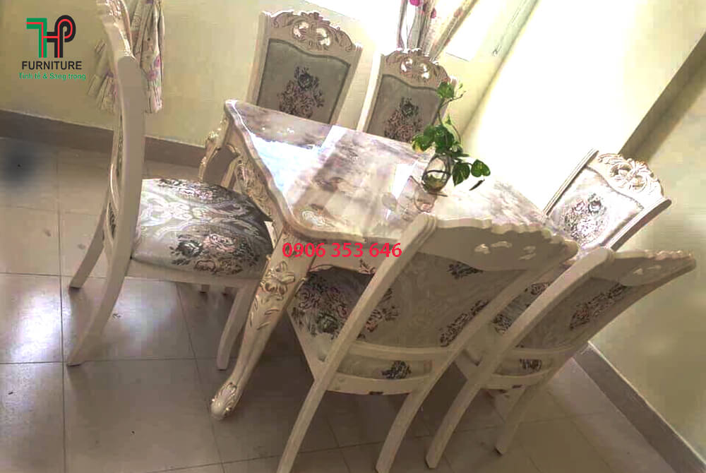 bàn ghế ăn cổ điển đẹp (2)